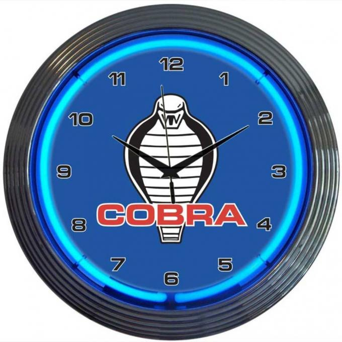 Neonetics Neon Clocks, Ford Cobra Neon Clock