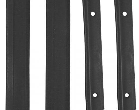 RestoParts Console, DIAL SEALING STRIPS, 1968-72 Chevelle/El Camino/Monte, Automatic RCS0561