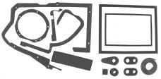 RestoParts Heater Box Seal Set, 1968-72 A-Body/1969-72 GP, w/AC CH17468
