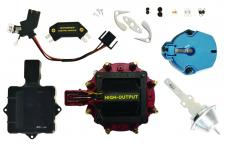 Proform Engine Distributor Tune-Up Kit, Fits GM HEI V8 Dist w/Internal Coil, Red Cap 66945RC