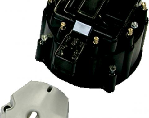 Proform Engine Distributor GM HEI Coil, Cap and Rotor Kit, Black Cap 66942BKC