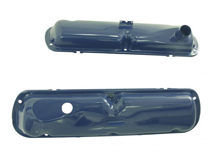 Scott Drake 1965-1968 Ford Mustang 65-68 Small Block Valve Covers (Blue) C5ZZ-6A582-BL