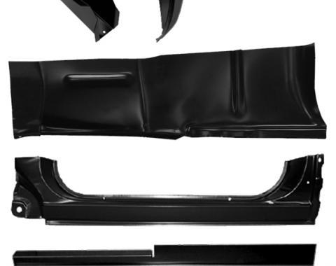 Key Parts '73-'91 Rocker Panel Repair Kit, Driver's Side 0850-001 L