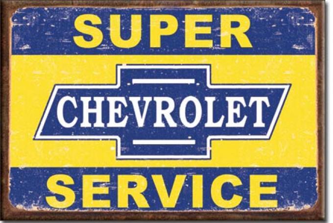 Magnet, Super Chevy Service