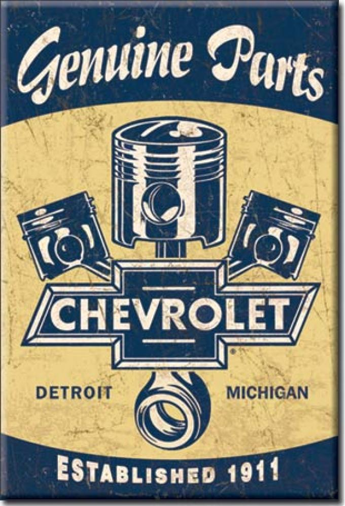 Magnet, Chevy Pistons