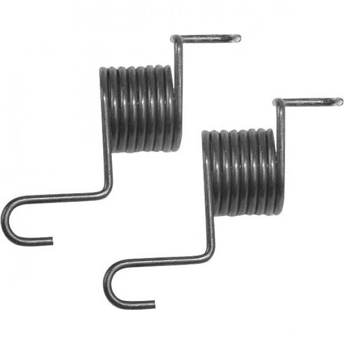 Throttle Return Springs - Stainless Steel - Painted Black -Stromberg 97, 81 Or 48 - 1 Pair