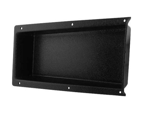 Console Glove Box Liner - ABS Plastic - Black With Original Type Textured Grain