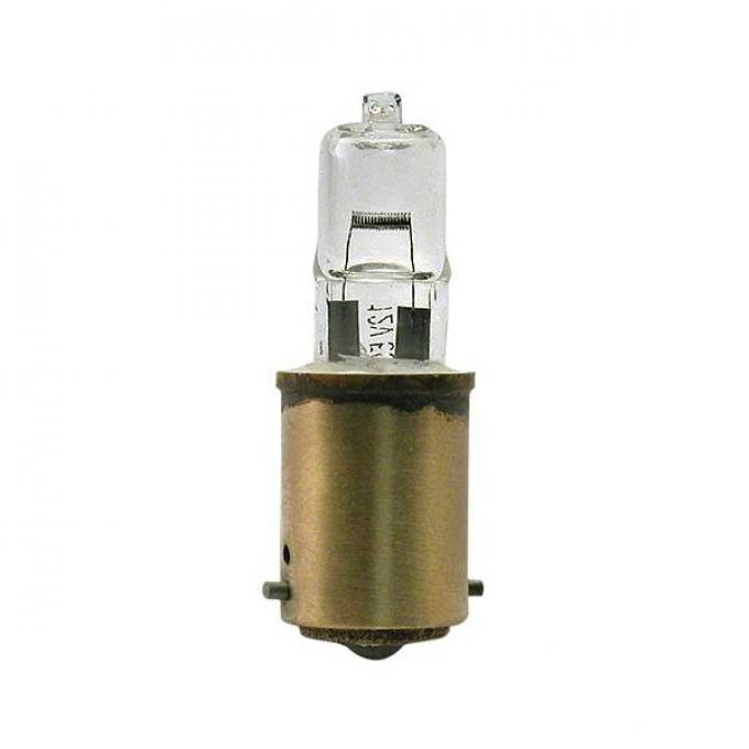 Halogen Light Bulb - Single Contact - 50 Watt - 12 Volt - Recommended To Be Used With Glass Lens Only - Ford