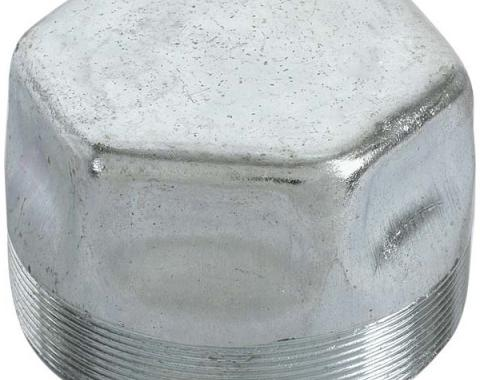 Front Hub Grease Cap - Thread On - Ford Passenger