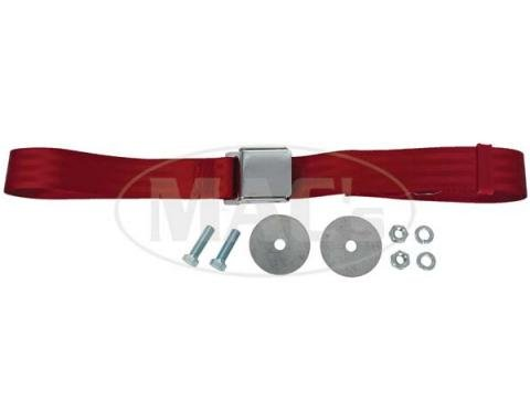 "Seatbelt Solutions Universal Lap Belt, 60"" with Chrome Lift Latch 1800602007 