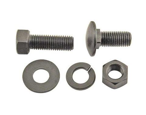 Running Board Bolt Kit - 100 Pieces - For Frames With RoundHoles - Ford Passenger