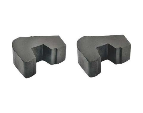 Ford Pickup Truck Pad At Rear Of Cab To Frame Suspension Arm - Rubber - F100 Thru F350