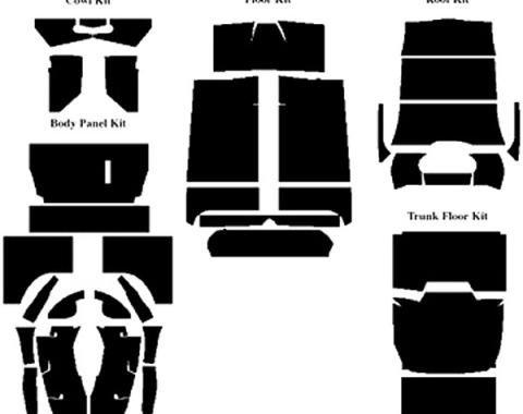 Acoustishield Insulation Kit - Ford Sedan Delivery