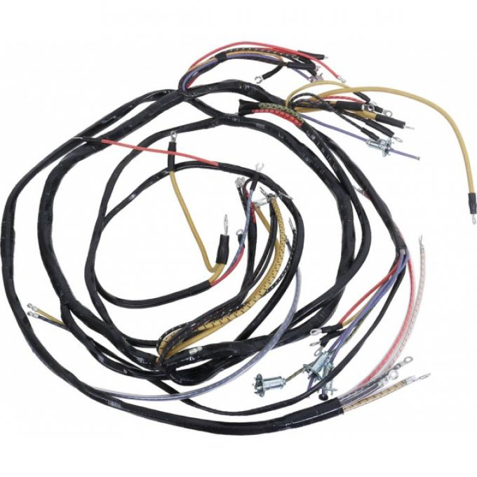 Ford Pickup Truck Dash Wiring Harness - V8 - F7 & F8 Conventional Cab
