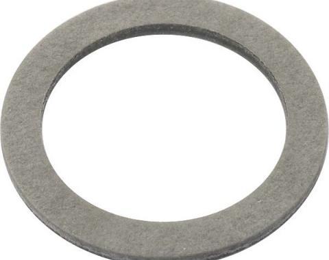 Oil Pan Drain Plug Gasket - Fiber - Use With B6730 Or B6730M - 4 Cylinder Ford Model B