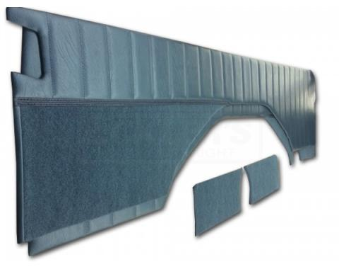Chevy & GMC Blazer/Jimmy Interior Panel, Rear, Encore Velour, With Pleats, 1976-1991