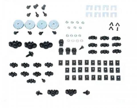Chevy Truck - Front End Fastener Kit, Stainless Steel, 1967-1972