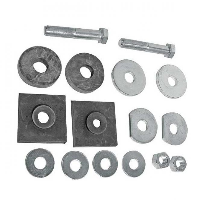 Ford Pickup Truck Radiator Support To Frame Pad Kit