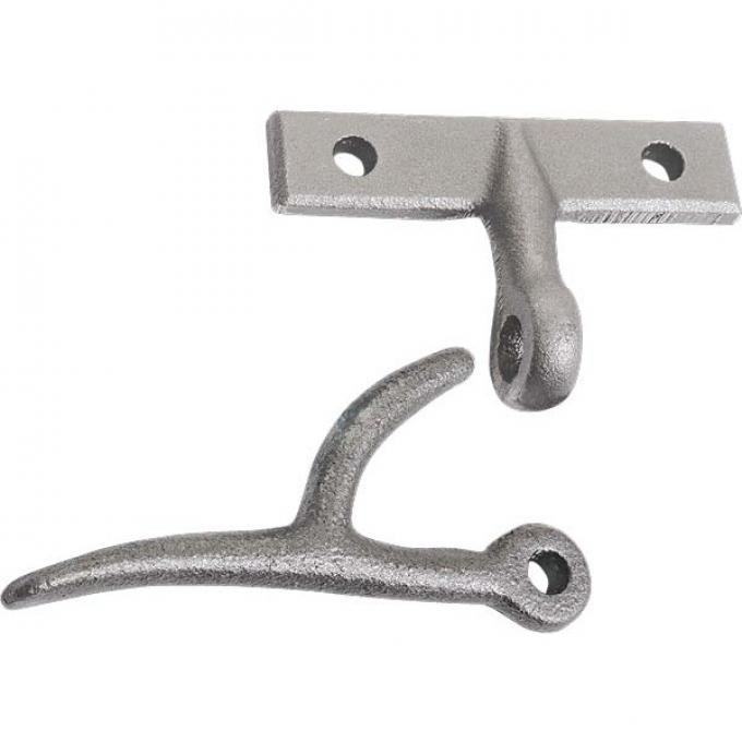 Model A Ford Tailgate Latch Set - Cast Iron