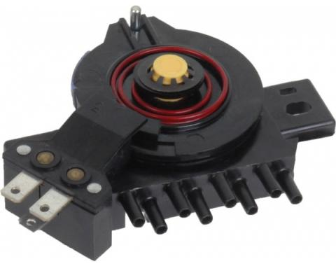 Ford Pickup Truck Air Conditioner Vacuum Selector Valve - With Deluxe Heater & Factory Air Conditioner - F100 Thru F250