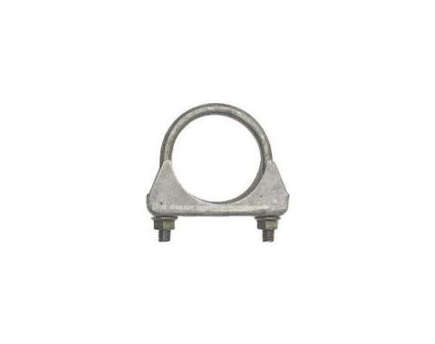"""Early Chevy Exhaust Muffler Clamp, Steel, 2"""", 1949-1954"""