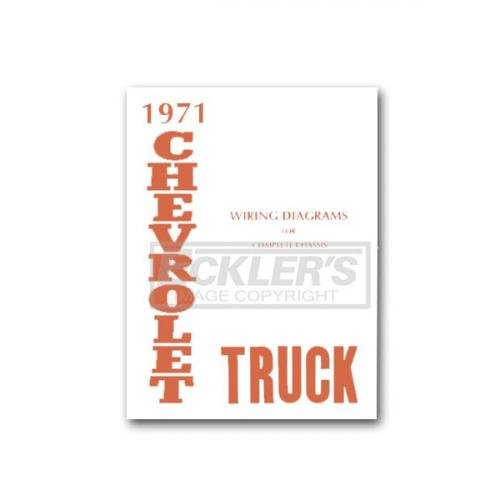 Chevy Truck Wiring Diagram  1971
