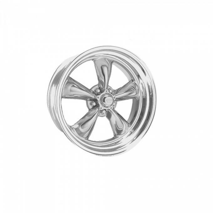 Chevy American Racing Torq Thrust II Wheel, Polished Aluminum, 14X6