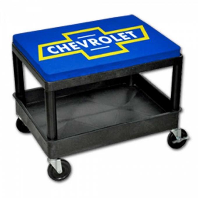 GoBox Mechanics Seat With Bowtie Logo