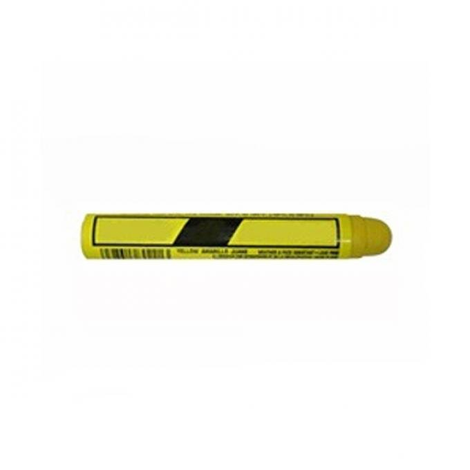 Chevy Frame, Engine And Body Inspection Paint Marker, Yellow, 1949-1954