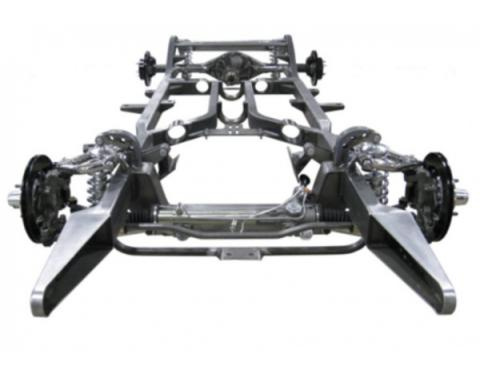 Chevy Custom Built Modern Chassis, Ridetech ShockWave Upgrade, 1955-1957