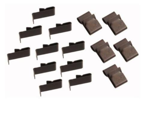Ford Pickup Truck Headliner Clip Kit - 15 Pieces