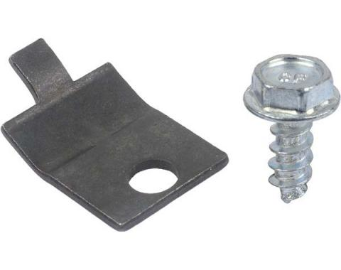 Heater Control Cable Clamp - Black Oxide Finish