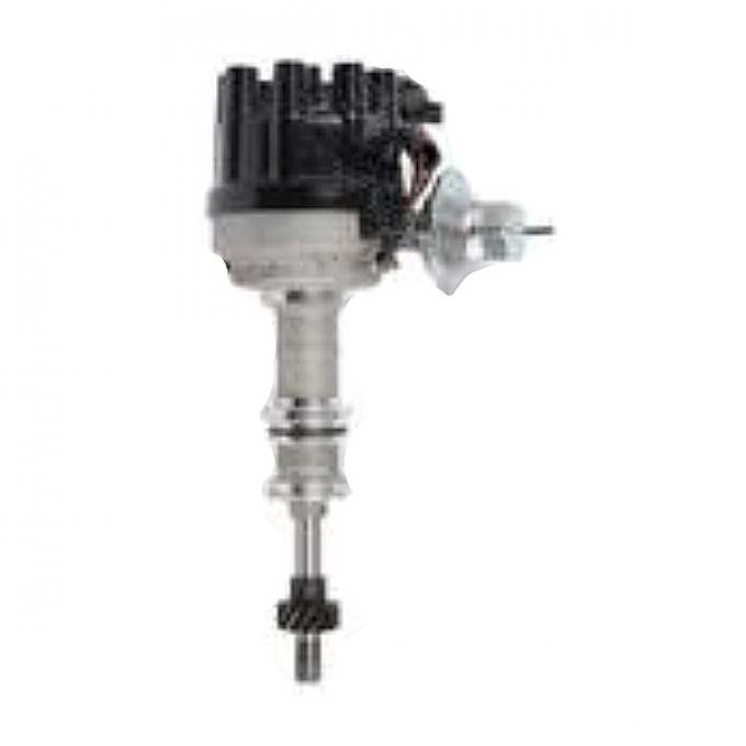 Distributor, New With Cap & Rotor, Single Vacuum ElectronicIgnition Type, 351 Windsor Engines