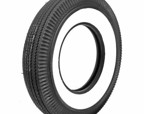Tire - 710 X 15 - 2-3/4 Whitewall - Tubeless - Firestone
