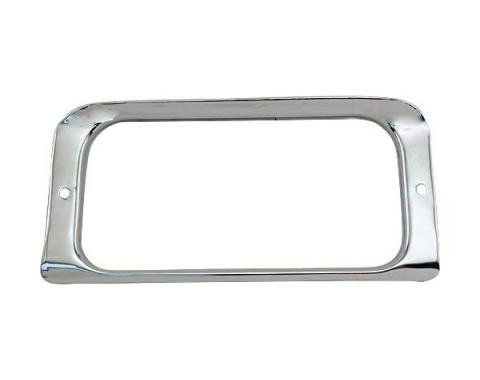 Ford Pickup Truck Tailgate Handle Opening Moulding - F100 Thru F350 Styleside Bed
