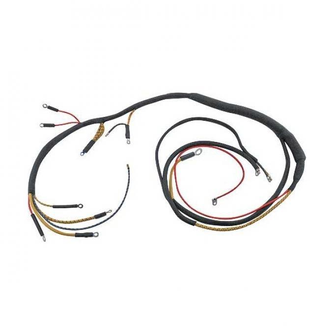 Cowl Dash Wiring Harness - 2 Terminal Amp Gauge - V8 - FordPassenger