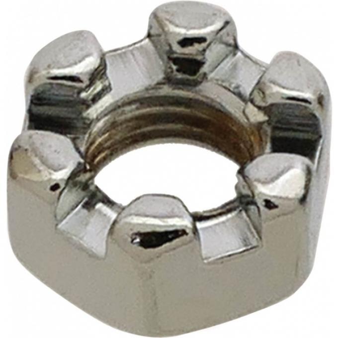 Castle Nut - Chrome - 5/16-24