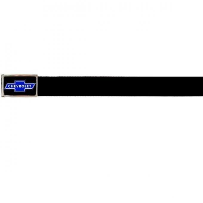 Web Belts, Up to 28'' Waist, Chevy Blue Bowtie Logo