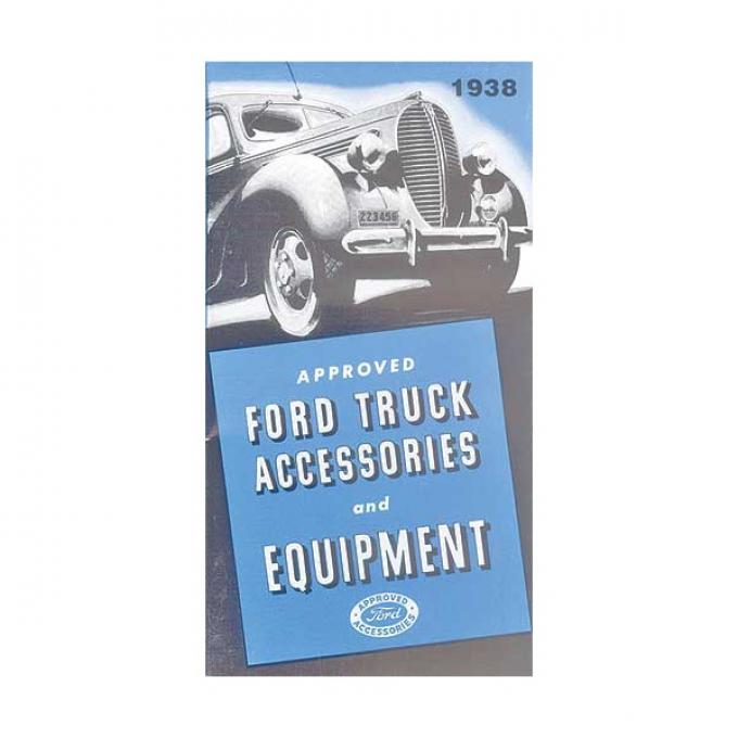 Ford Truck Accessory Brochure, Fold-Out Style, 1938