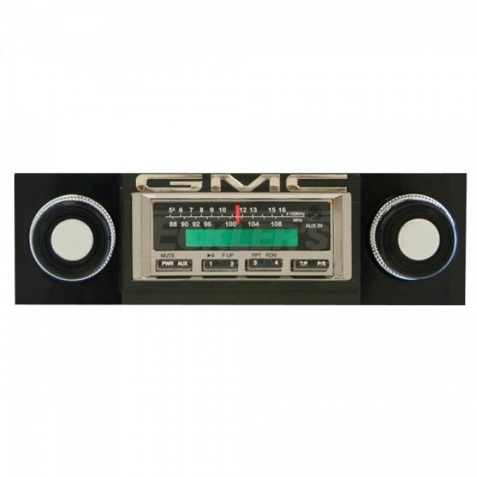 GMC Truck Stereo, KHE-300 Series, 200 Watts, 1967-1972
