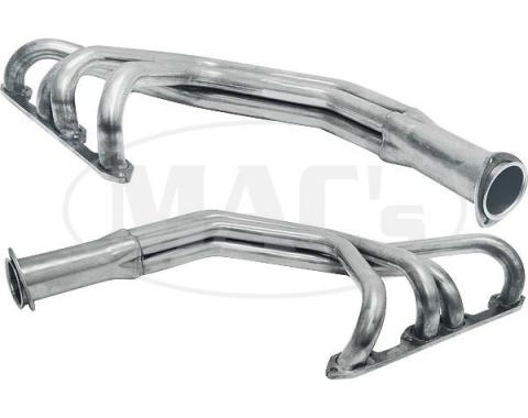 Ford Pickup Truck Exhaust Header Kit - Plain Steel - 239 OHV, 272 & 292 V8