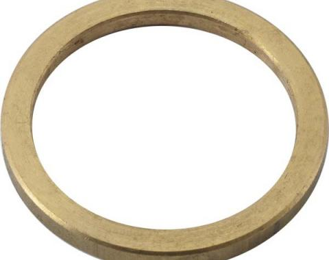 Oil Pan Drain Plug Gasket - Brass - Use With B6730 Or B6730M - 4 Cylinder Ford Model B