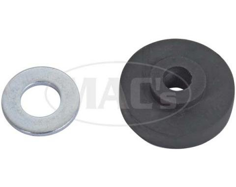 Running Board To Frame Grommet Kit - Rubber & Metal Washers- 48 Pieces - Ford Passenger