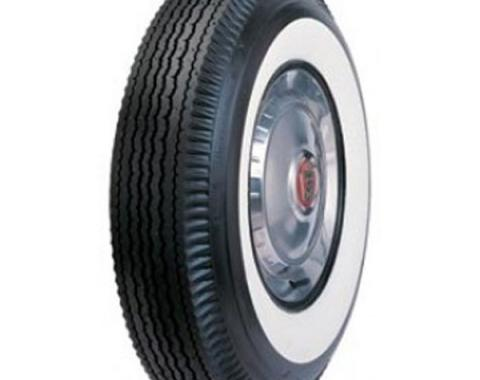 Tire - 710 X 15 - 2-3/4 Whitewall - Tubeless - Universal