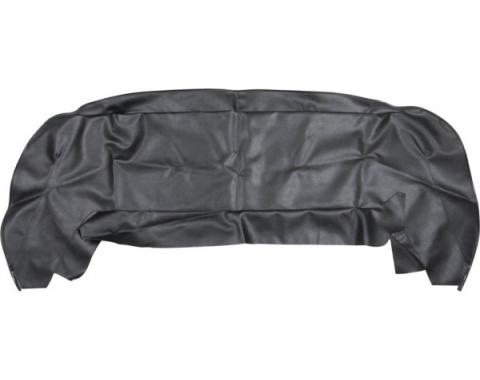 Convertible Top Well Liner | Convertible Top Well Liner - Black Vinyl - Ford and Mercury