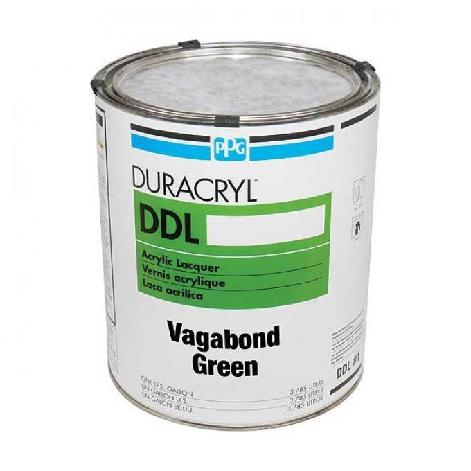 Exterior Body Paint - Acrylic Lacquer - Vagabond Green - Gallon - Ford