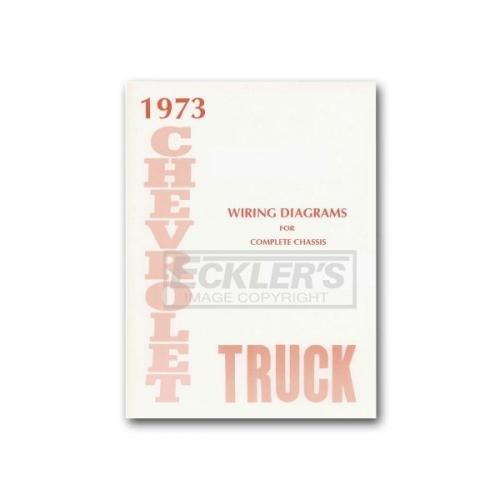Chevy Truck Wiring Diagram  1973