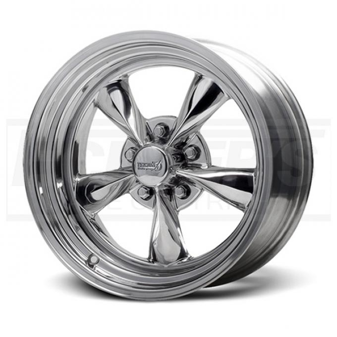 Chevy or Gmc Polished Fuel Wheel, 17x7, 5x5 Pattern,1967-1987