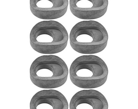 Shock Absorber Link Grease Seal - 8 Piece Set - Rubber - For Original Tubular Links - Ford