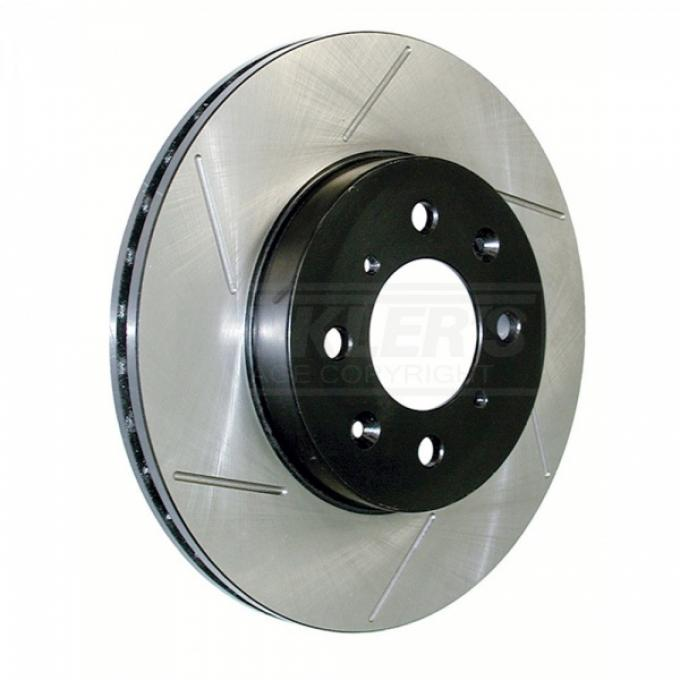 Chevy Or GMC Truck, Slotted Sport Brake Rotor, 1-1/4'', 2WD, Left, 1995-1998